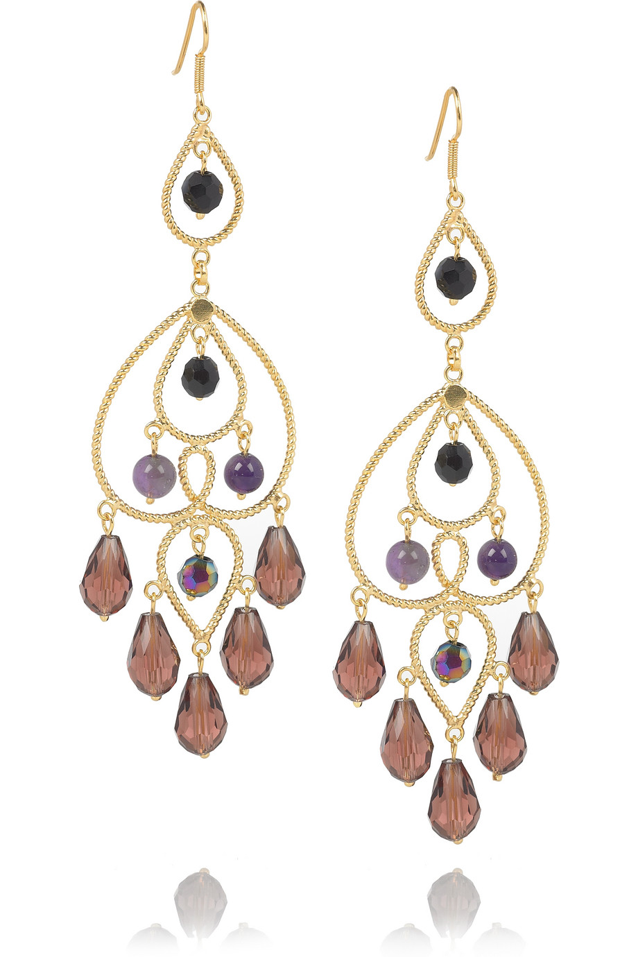 Cristina Amethyst Earrings