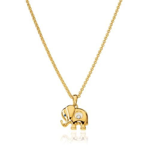 Happy Diamonds Elephant Pendant